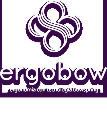 Logo Ergobow en blanco